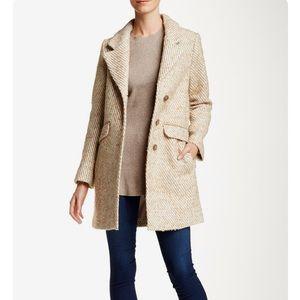 Soia Kyo wool blend coat